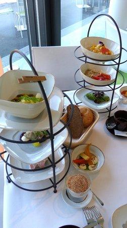 Meierei am Stadtpark: Breakfast sets at Meierei