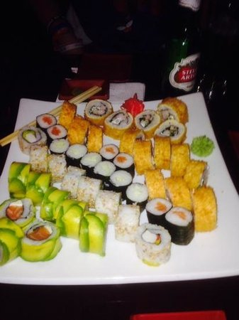 Zabo: Sushi for four.