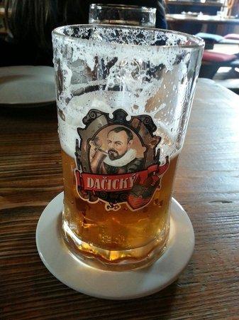 Pivnice Dacicky : Good local beer