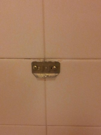 O'Callaghan Hotel Annapolis: Dangerous thing sticking out in shower