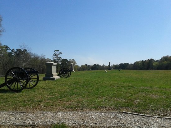 Chickamauga Battlefield : Near the point of the Confederate breakthrough