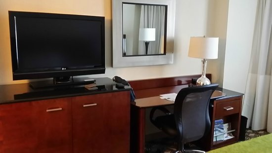 Tysons Corner Marriott: My room at 5th floor