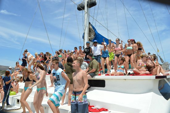 Ecocat Catamaran Tours: Party for all ages!