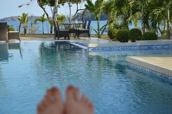 Hotel Bocas del Mar: We LOVED the pool! We had the pool to ourselves!