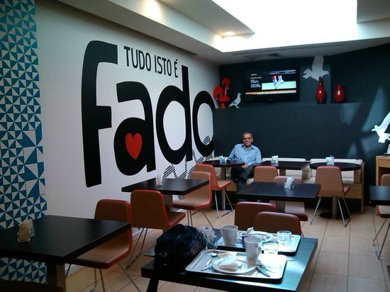 Ibis Lisboa Liberdade : Restaurante e café