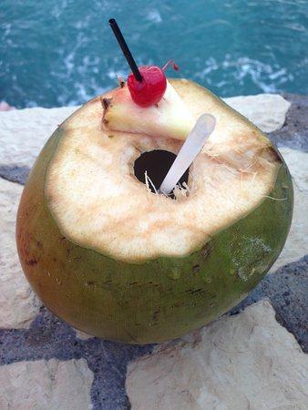 The SPA Retreat Boutique Hotel: Drunken coconut
