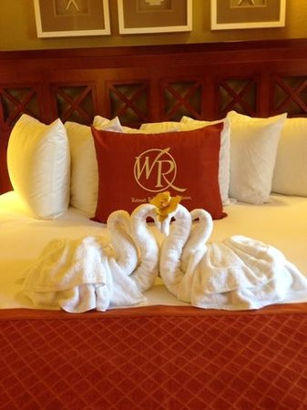 Westgate Vacation Villas Resort & Spa: Even more comfortable than it looks.
