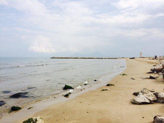 Dar El Maa: La plage