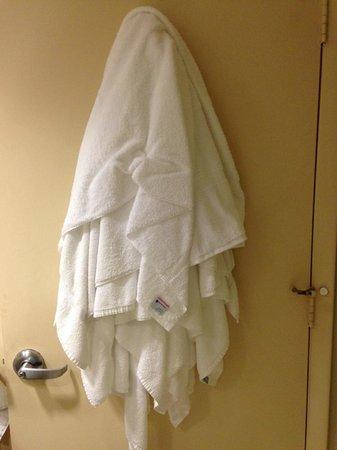 Rosen Centre Hotel: toalhas nao recolhidas