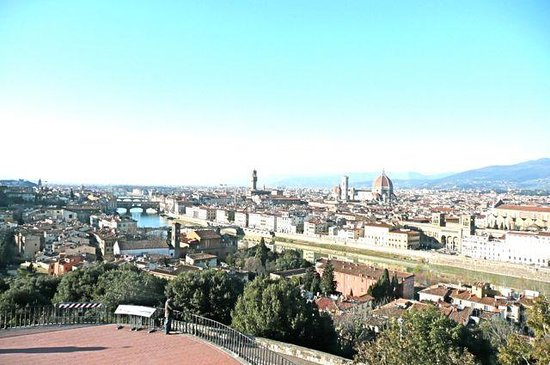 Piazzale Michelangelo: Great View