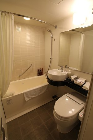 Perfect Mitsui Garden Hotel Shiodome Italia Gai: Bathroom