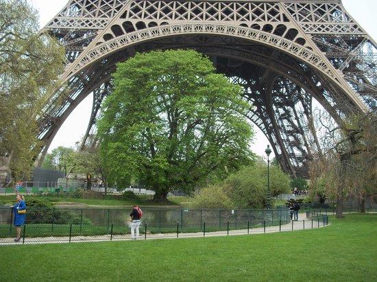 Tour Eiffel : Closeup
