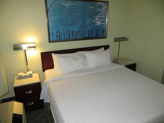 SpringHill Suites Austin Round Rock : King, n/s, room 410