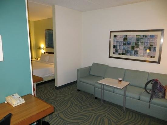 SpringHill Suites Austin Round Rock : Sitting area, room 410