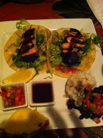 Fat Kahuna's Beach Side Grille: Shark Tacos