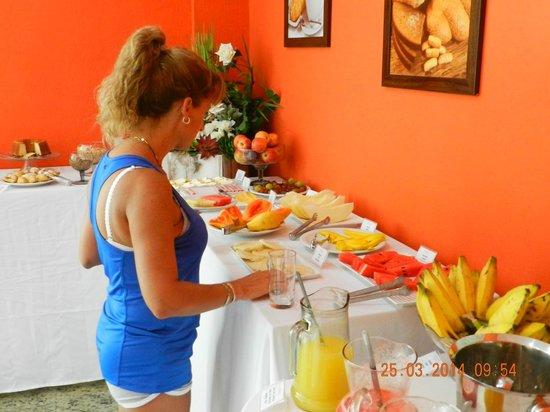 Hotel Pousada Experience Joao Fernandes: Desayuno