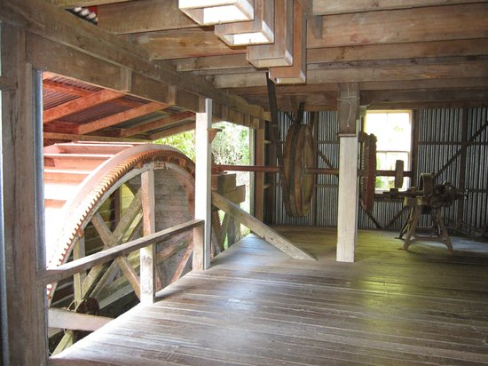 Whanganui River: Inside the Flour mill
