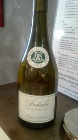 L'Atelier Cafe: Ardeche, a wonderful French Chardonnay