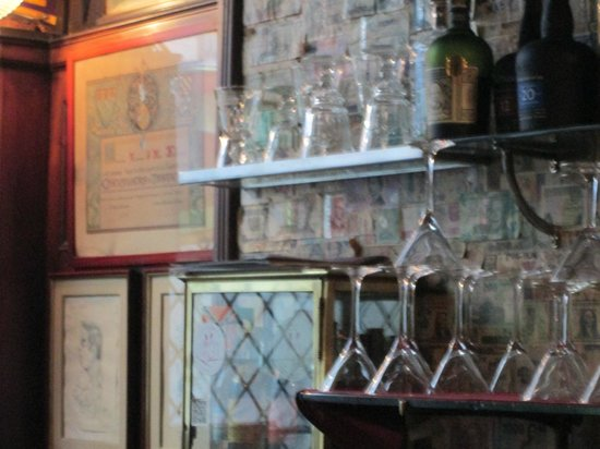 Harry's New York Bar: Your choice of vintage potions