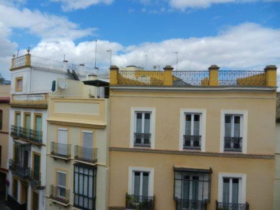 Petit Palace Santa Cruz: View across from our balcony