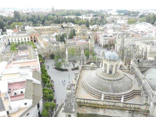 Petit Palace Santa Cruz: View of Sevilla from the cathedral tower