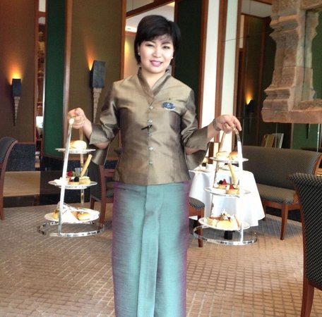 The Sukhothai Bangkok : High tea. アフタヌーンティー!