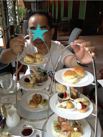 The Sukhothai Bangkok: High tea. スコタイ アフタヌーンティー!^_^