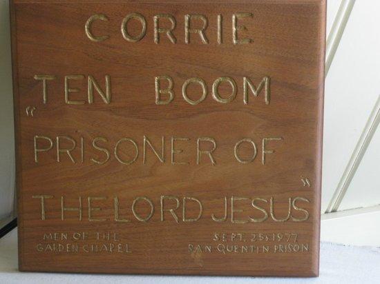 The Corrie ten Boom House: Corrie ten Boom House