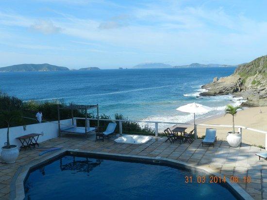 Apa Pau Brasil Hotel : Muy buena vista desde Comedor