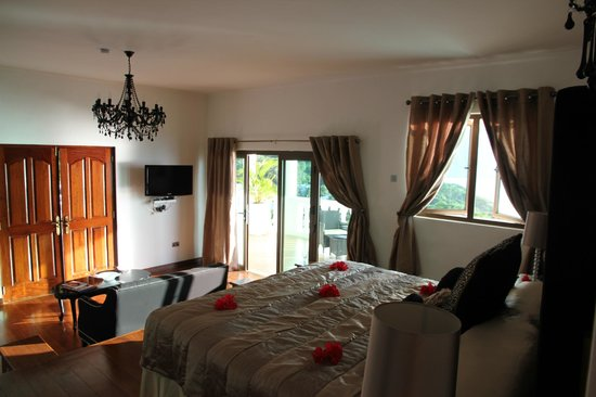 Petit Amour Villa: View of the enormous Master Suite.  Soooo comfortable.