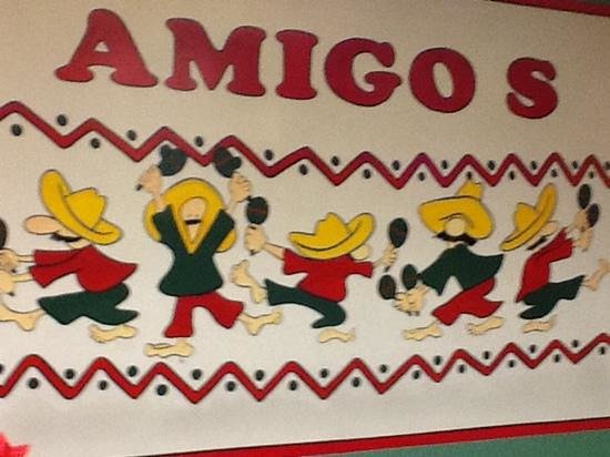 Amigos Mexican Restaurant: friendly welcome