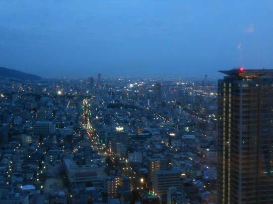 ANA Crowne Plaza Kobe: View from the Club lounge