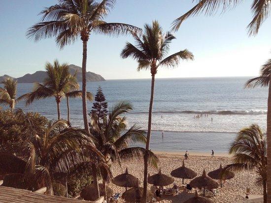 The Palms Resort Of Mazatlan : Vista desde quinto piso
