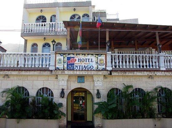 Hotel Santiago: Entrada Principal