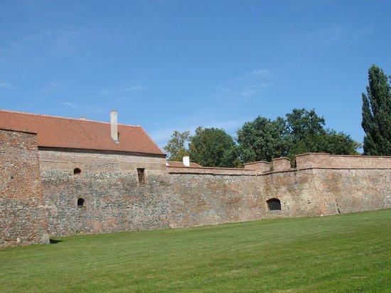 Sarvar Nadasdy Castle : Стены замка