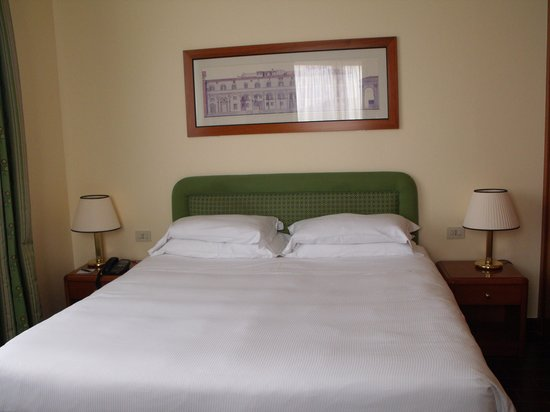 Starhotels Business Palace: the bed was comfy