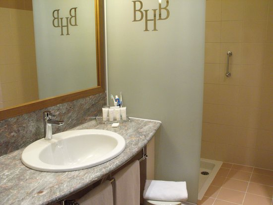 Starhotels Business Palace : bathroom was clean