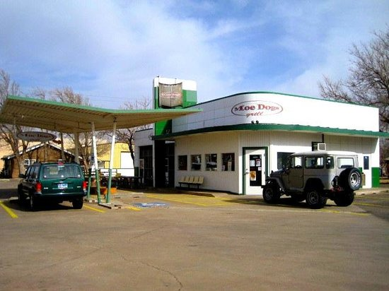 Route 66 Historic District: Along Route 66 in Amarillo
