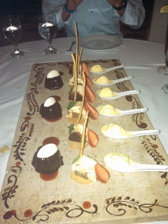 Fiesta Americana Condesa Cancun All Inclusive : desert at Rosato