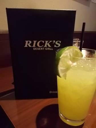 Rick's Restaurant & Bakery: Happy Hour $5 Margarita!