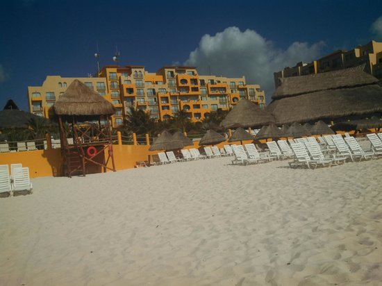 Fiesta Americana Condesa Cancun All Inclusive : view from beach