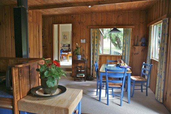 Rapaura Water Gardens: Dining room