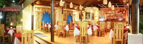 Art Cafe Sanur: Art Cafe Panorama
