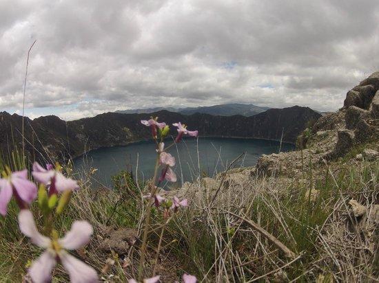 Laguna Quilotoa: Лагуна
