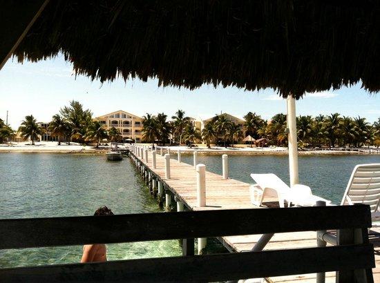Pelican Reef Villas Resort: from the dock