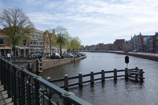 Spaarne 66, Haarlem - view from restaurant