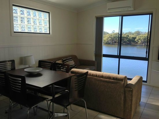 Jervis Bay Caravan Park : View from our lounge room