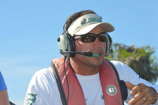 Florida Cracker Airboat Rides & Guide Service: Captain Lawrence