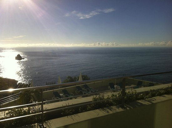 Madeira Regency Cliff : view from dining terrace
