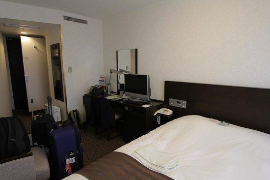 Osaka Daiichi Hotel : Bedroom